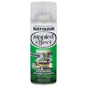 Rust oleum rippled effects spray paint